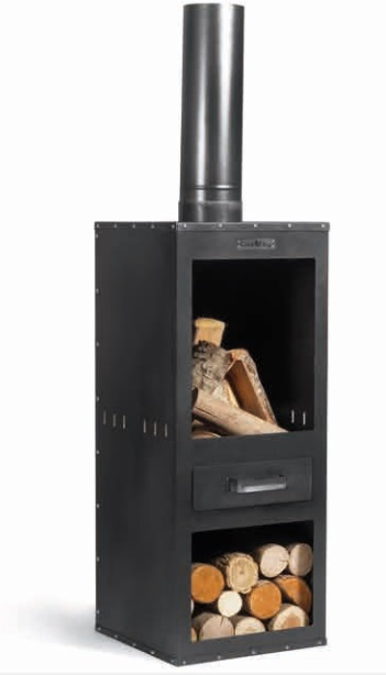 Fire place Rosa
