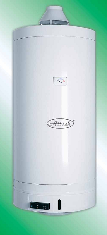Gas water heater Attack PZO 120