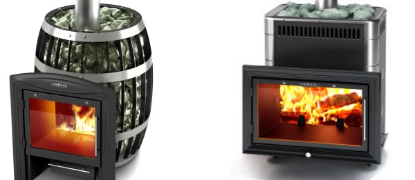 Sauna wooden stoves