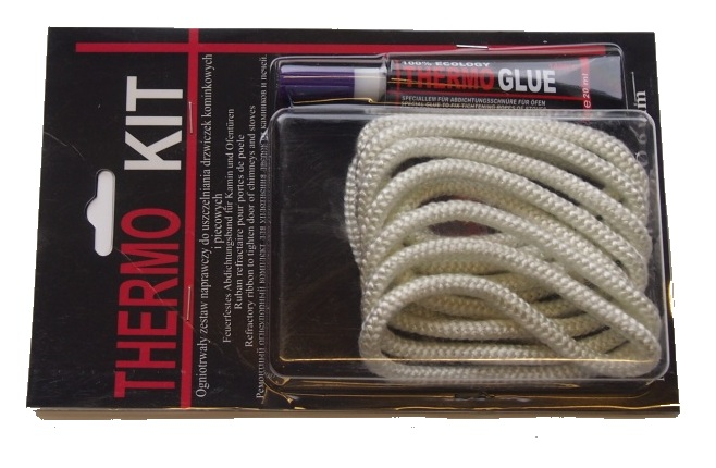 Repair kit THERMO KIT (rope + glue) 6mm